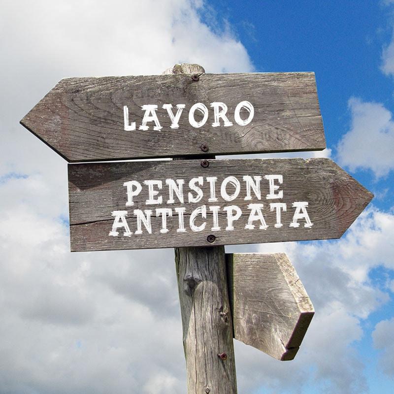 Pensione anticipata 2019